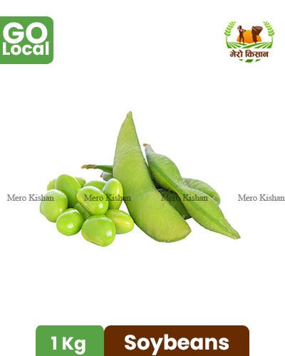 Soybeans - हरियो भटमास
