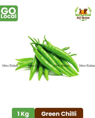 Green Chilli - हरियो  खुर्सनी